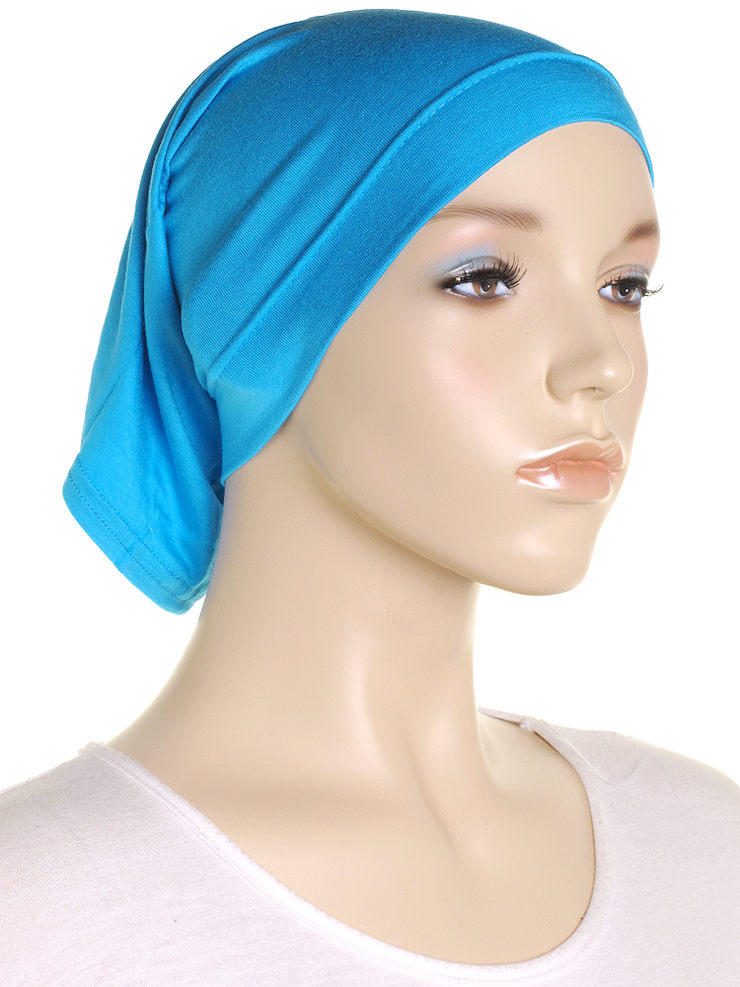 Turquoise Stretch Tube Underscarf - Hijab Store Online