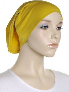 Bumblebee Plain Cotton Tube Underscarf - Hijab Store Online