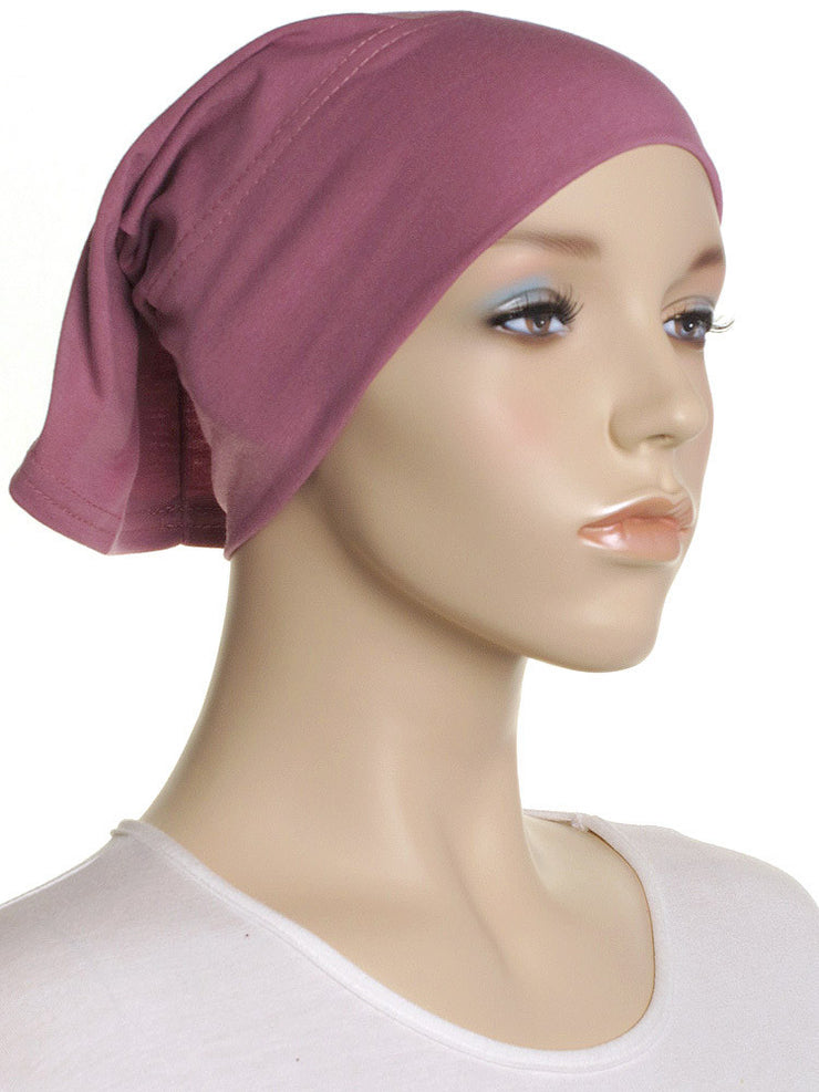 Rose Plain Cotton Tube Underscarf - Hijab Store Online
