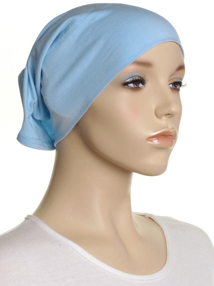 Sky Plain Cotton Tube Underscarf - Hijab Store Online