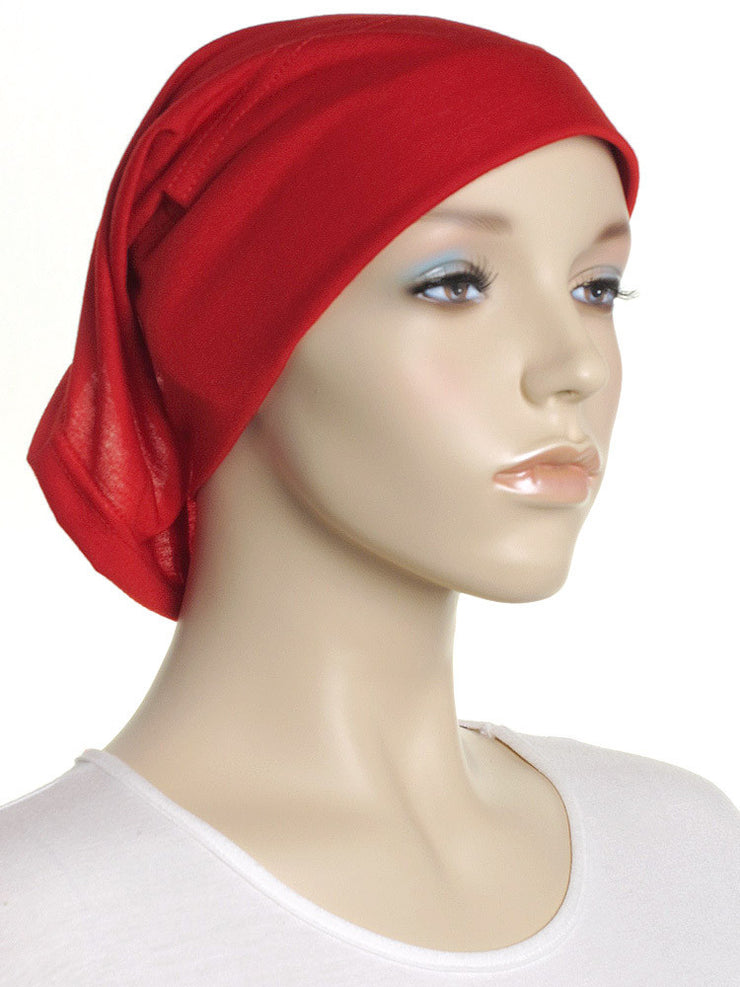 Crimson Arc Shaped Underscarf - Hijab Store Online
