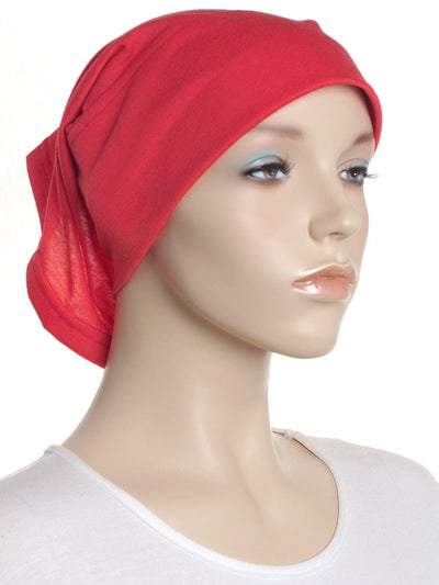 Red Arc Shaped Underscarf - Hijab Store Online