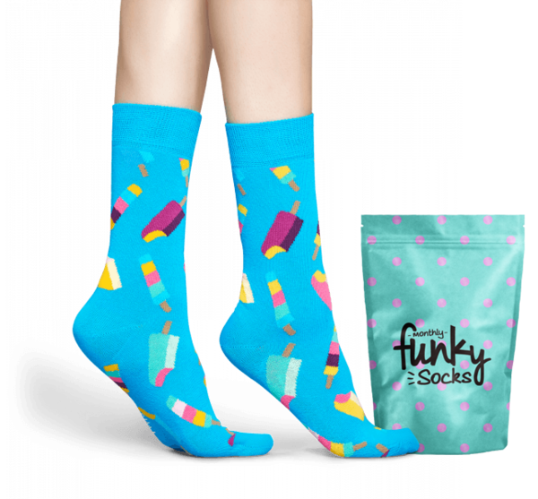 The Funky Socks Delivery.