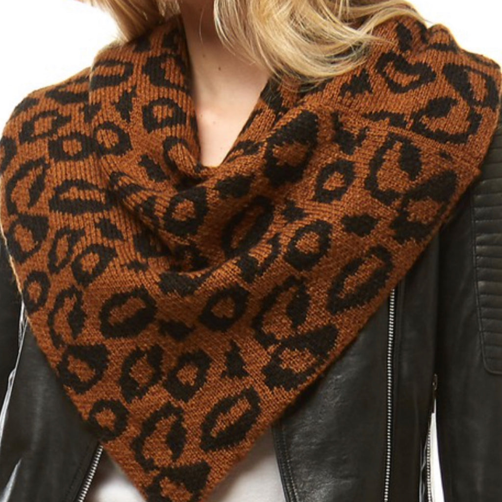 Perfect Leopard Tube Scarf