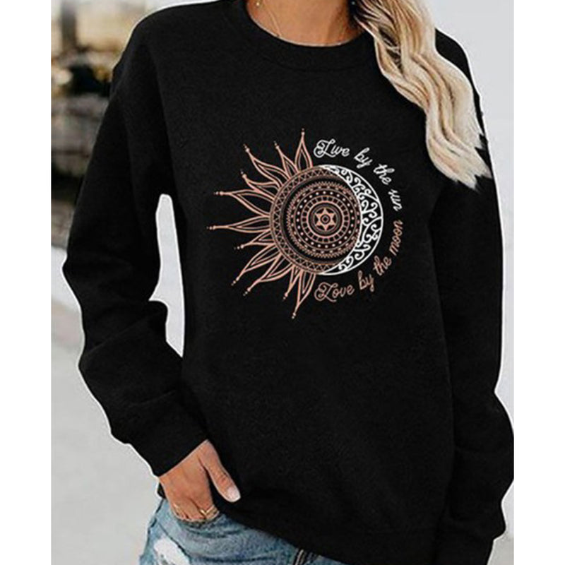 Live By The Sun Love By The Moon Long Sleeve Top
