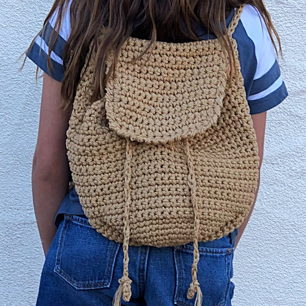 PP-6940 WOVEN BACKPACK
