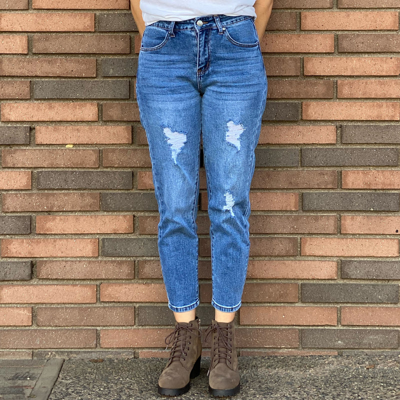 90186 Loose Fit Mom Jeans