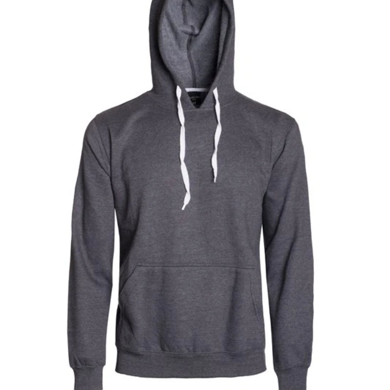 HB - PULL OVER FLEECE HOODIE - CHARCOAL