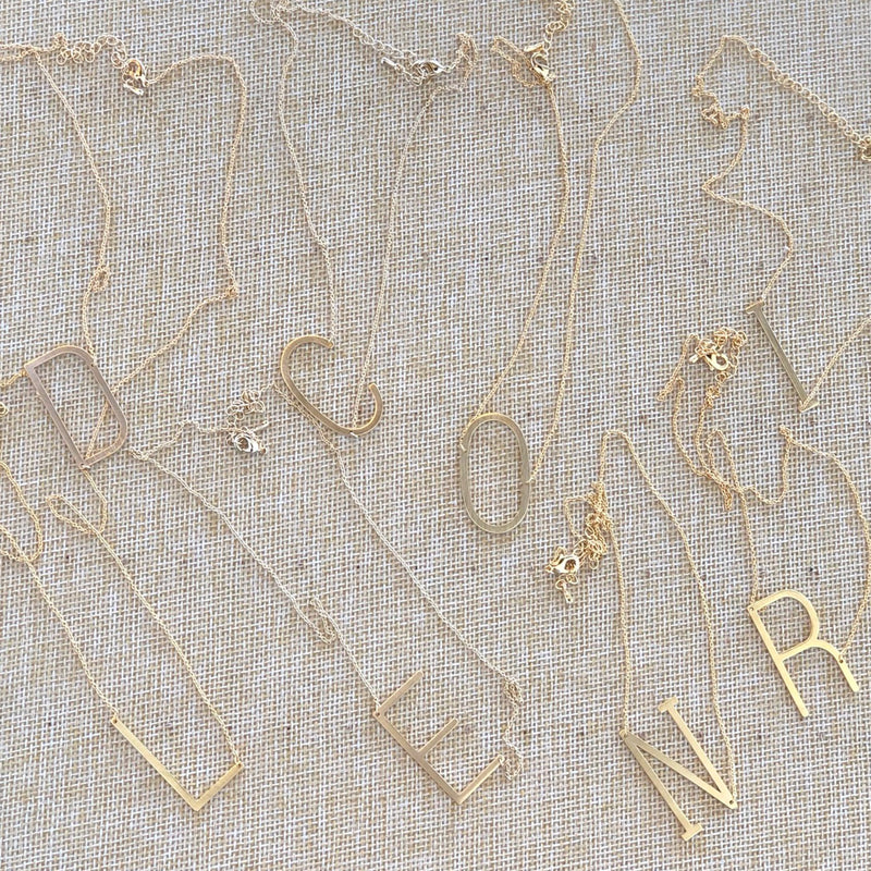 JBN-1569 INITIAL NECKLACE