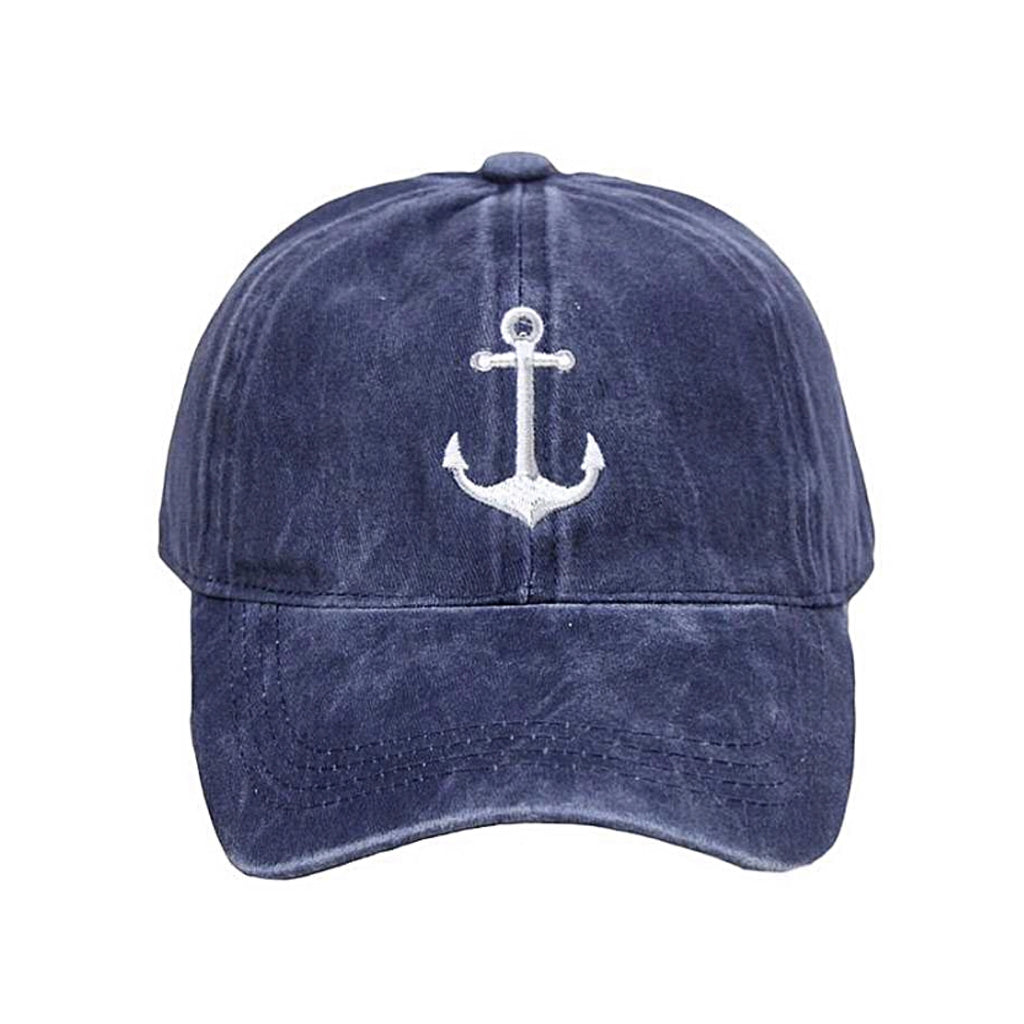 LCAP429 Anchor Embroidery Cap