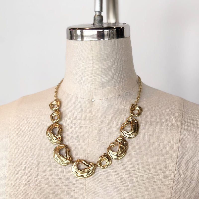 LSN3688 GOLD NECKLACE