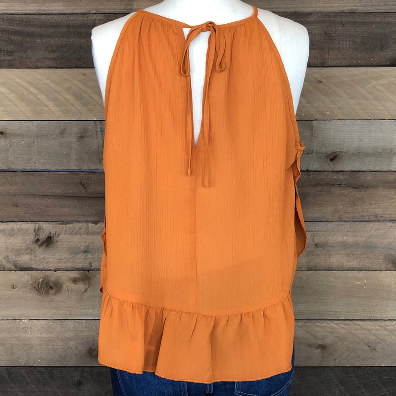 FL19F177 GINGER WOVEN TOP