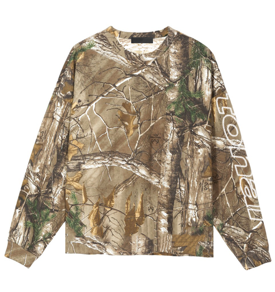 REALTREE CYRILLIC LONG SLEEVE L/S T-SHIRT