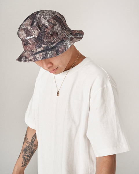 TREE CAMO BUCKET HAT