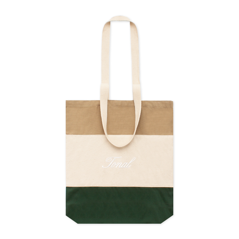 Canvas Color Block Tote