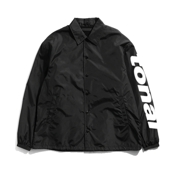 CYRILLIC COACH JACKET