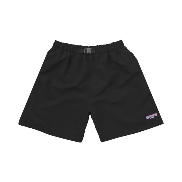 NYLON SHORTS BLACK