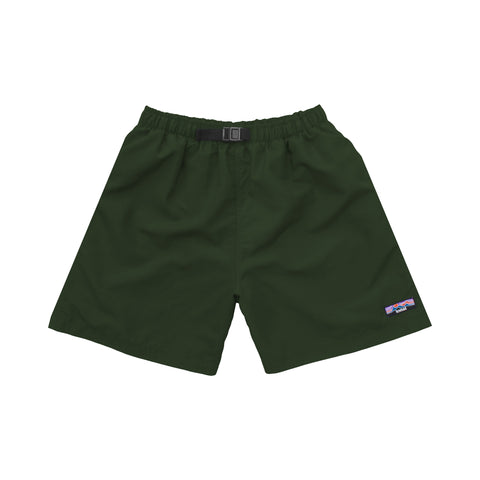 NYLON SHORTS DARK GREEN
