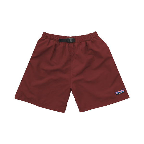 NYLON SHORTS MAROON