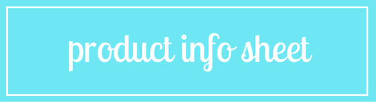 Fish Tails Product Information Sheet