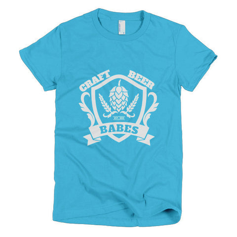 FAMILY CREST Women's Crew Neck Shirt (Sale) - Craft Beer Babes
