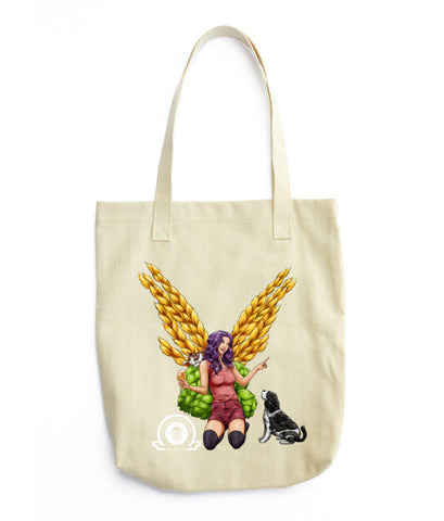 Angel Collection: Harmony Angel Tote bag - Craft Beer Babes - 1