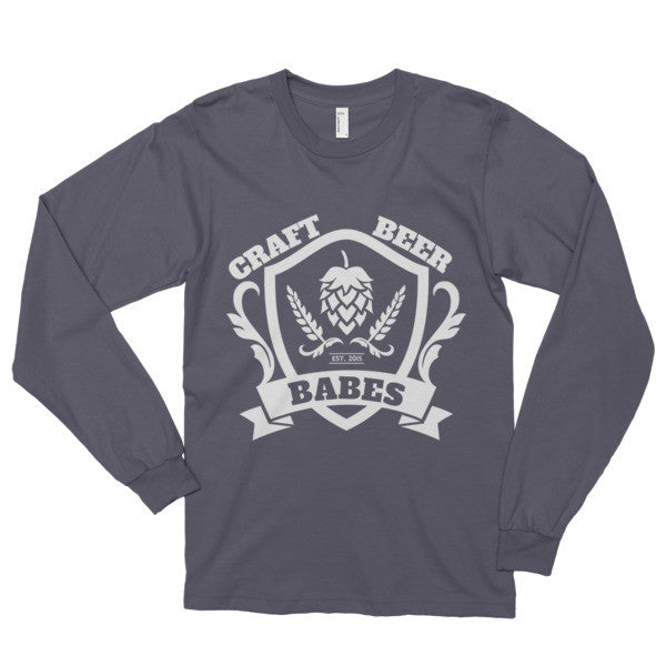 CBB Family Crest Long sleeve t-shirt - Craft Beer Babes - 2