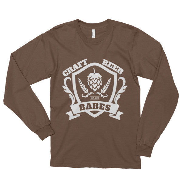 CBB Family Crest Long sleeve t-shirt - Craft Beer Babes - 3