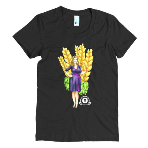 Alex IPA Girl women's t-shirt - Craft Beer Babes - 1