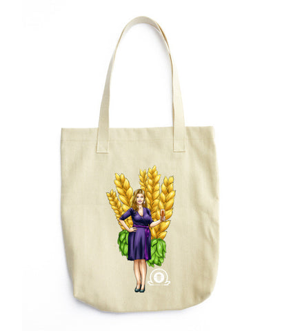 ALEX Tote bag - Craft Beer Babes - 1