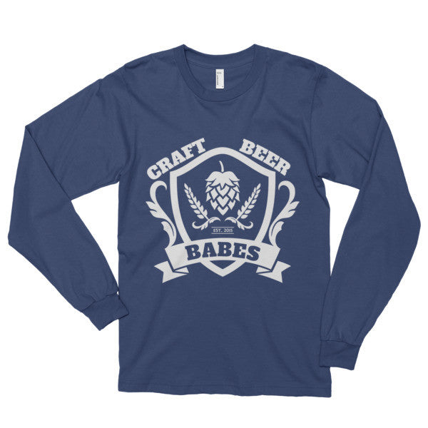 CBB Family Crest Long sleeve t-shirt - Craft Beer Babes - 4