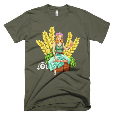 AUTUMN Short sleeve men's t-shirt - Craft Beer Babes - 1