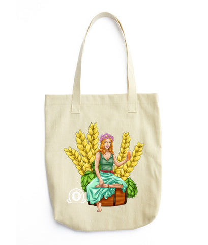 AUTUMN Tote bag - Craft Beer Babes - 1