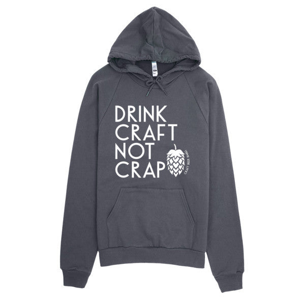Drink Craft, Not Crap Hoodie - Craft Beer Babes - 2