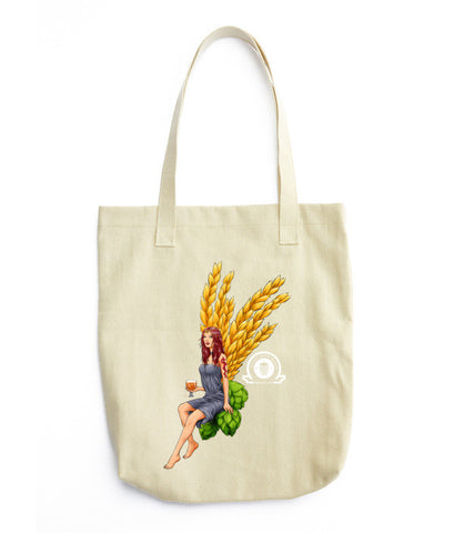 Angel Collection: Iris Angel Tote bag - Craft Beer Babes - 1
