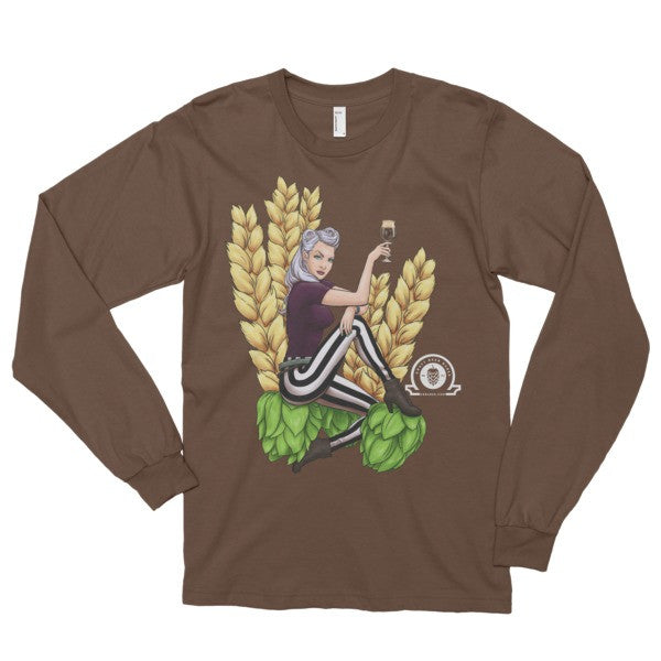 RAVEN Long sleeve t-shirt - Craft Beer Babes - 3
