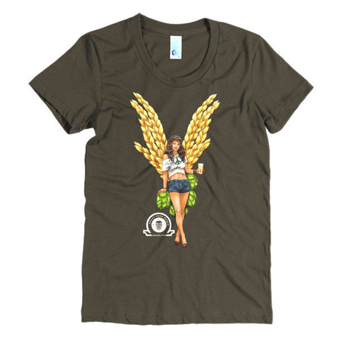 Angel Collection: PENELOPE Women's short sleeve t-shirt - Craft Beer Babes - 1