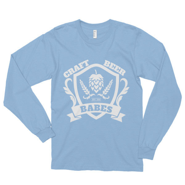 CBB Family Crest Long sleeve t-shirt - Craft Beer Babes - 5