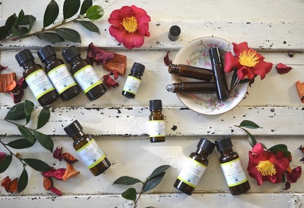 Make Your Own Perfume with Organic Essential Oils