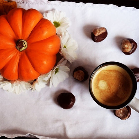 Fall Pumpkin Spice Latte with organic Cinnamon Oil