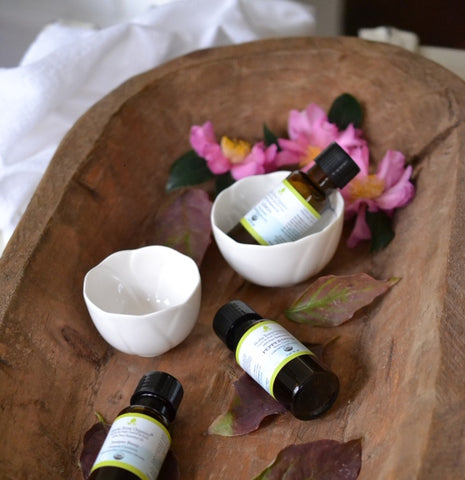 body cream for winter with essential oils