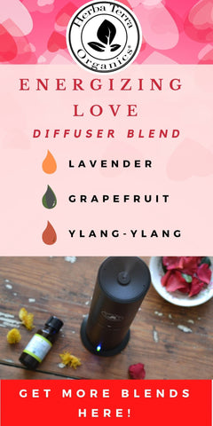 energizing essential oil blend for valentine's day