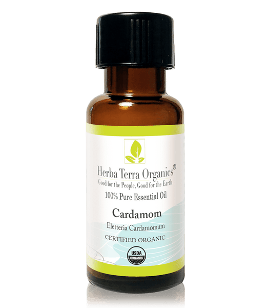 USDA Certified Organic Cardamom Essential Oil