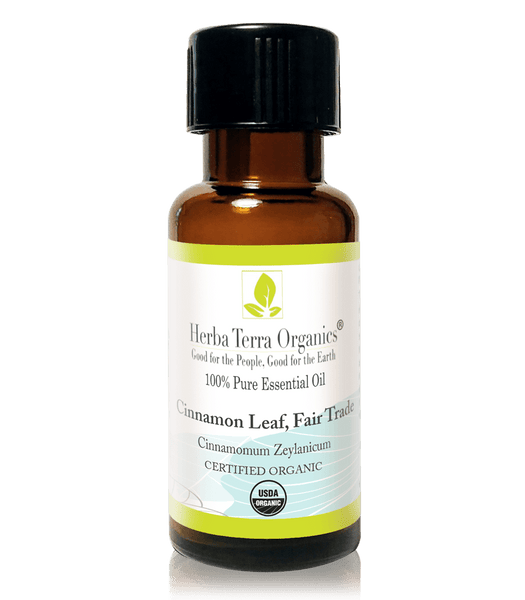 USDA Certified Organic Cinnamon Leaf Essential Oil