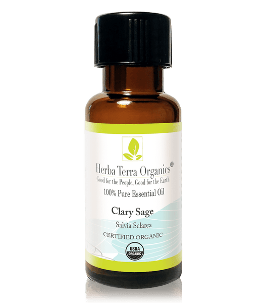 USDA Certified Organic Clary Sage Essential Oil