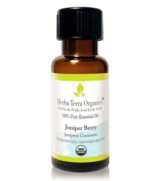 USDA Certified Organic Juniper Berry Essential Oil