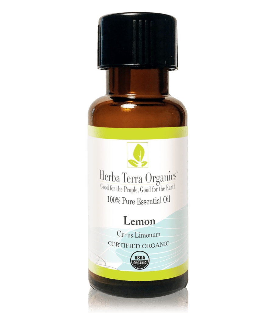 USDA Certified Organic Lemon Essential Oil