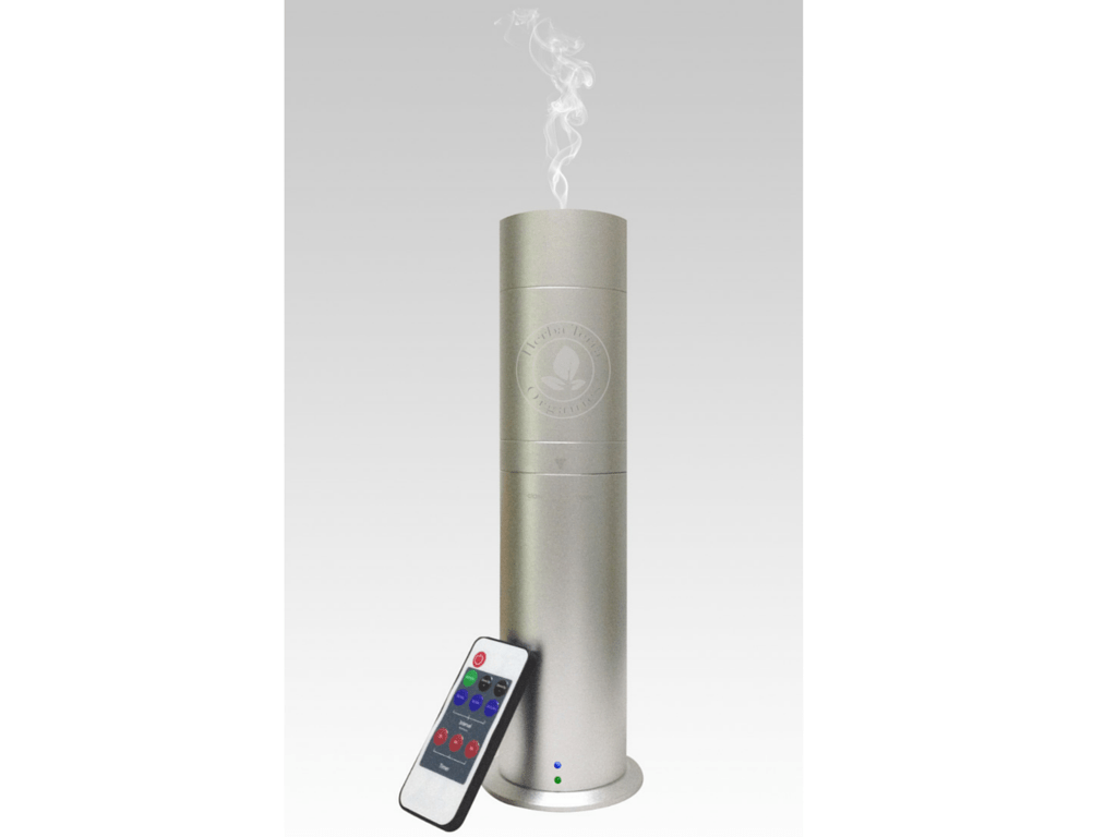 Oil Diffuser-Nebulizer with Nanotechnology-Silver