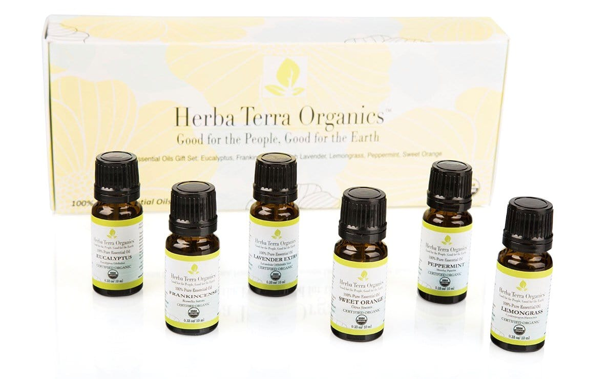 Essential Oils Starter Kit ($25.00 LESS vs. Purchased Separately)