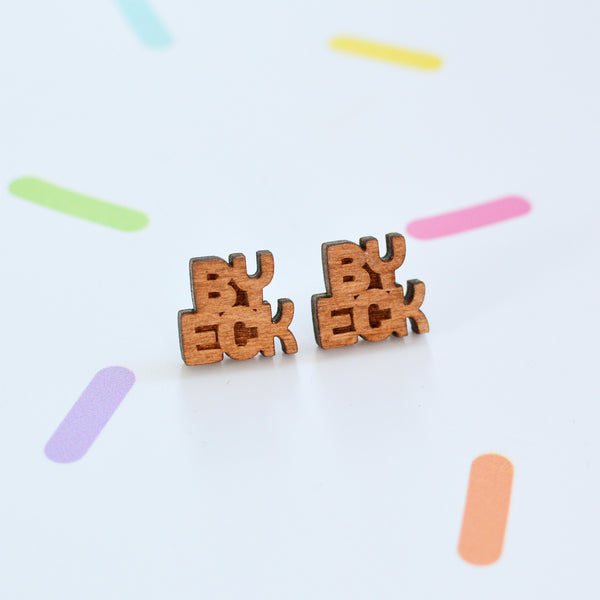 By Eck Yorkshire Stud Earrings